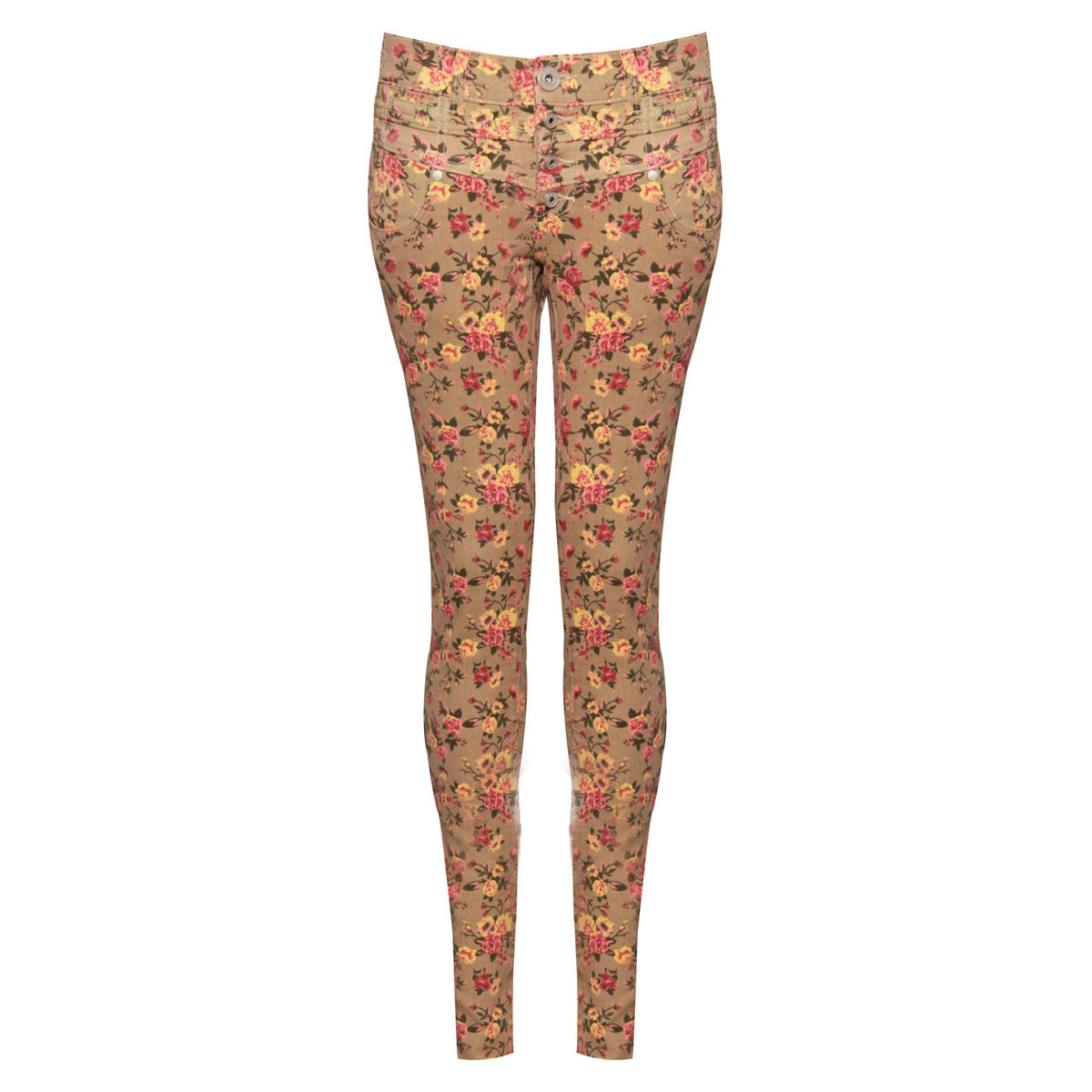 Floral Skinny Jean Preview